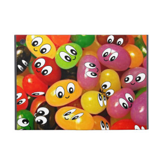 Cute Jelly Bean Smileys Covers For iPad Mini