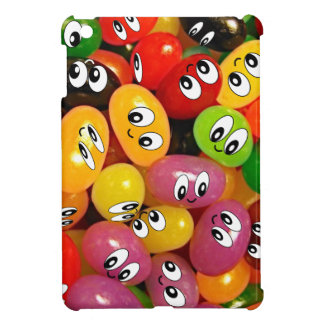 Cute Jelly Bean Smileys iPad Mini Cover