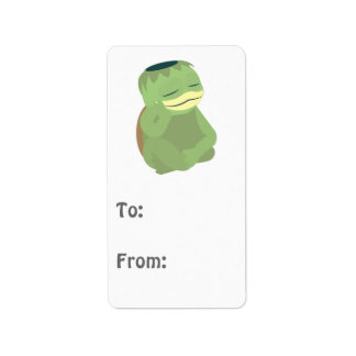 Cute Kappa Address Label