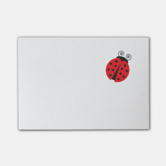 Cute Little Ladybug Post-it® Notes