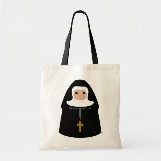 Cute Little Nuns Budget Tote Bag
