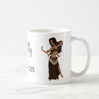 Cute Little Raqs Sharqi Bellydancer Basic White Mug