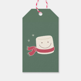 Cute Marshmallow Christmas Gift Tag