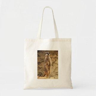 Cute Meerkat Tote Bag
