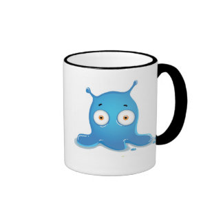 Cute Monster Ringer Mug
