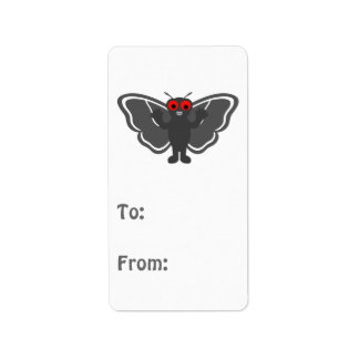 Cute Mothman Address Label