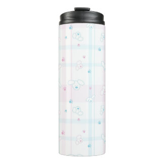 Cute pattern with dogs thermal tumbler