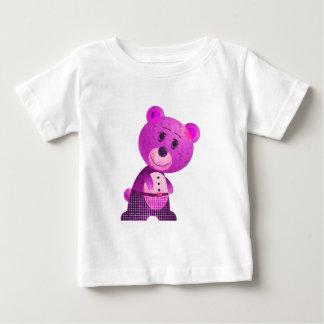 Cute Pink Bear Infant Long SleeveT-Shirt Tshirts