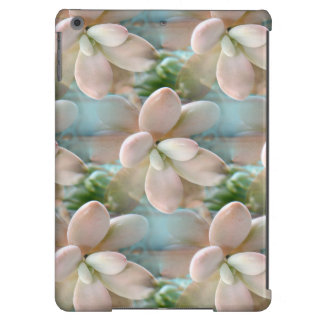 Cute Pink Sedum Succulent Jelly Bean Leaves iPad Air Covers