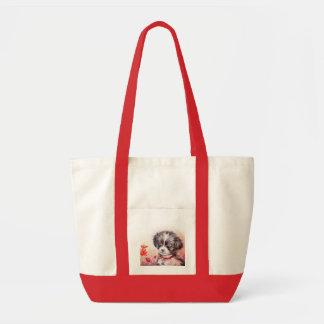 Cute Puppy Art Bag
