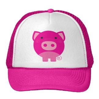Cute Round Pig Cartoon Cap