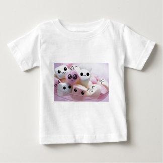 cute smiley face marshmallows shirts