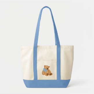 Cute Teddy Bear, For Baby Boy Impulse Tote Bag