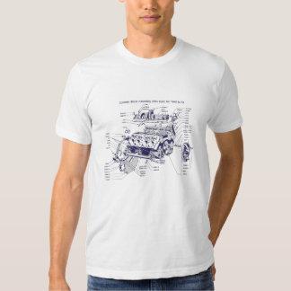 Cylinder Block T-shirts
