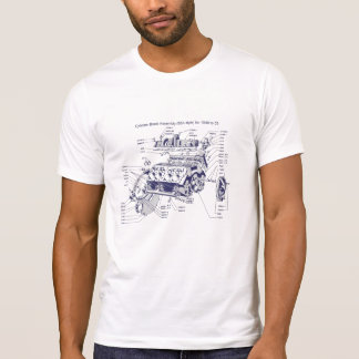 Cylinder Block Tee Shirt