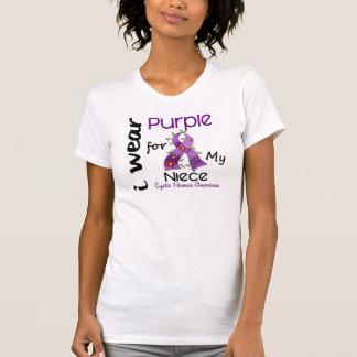 Cystic Fibrosis I Wear Purple For My Niece 43 Tee Shirt