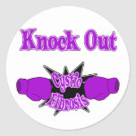 Cystic Fibrosis Round Sticker