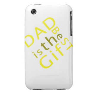 Dad is the Best Gift  iPhone 3G/3GS Case-Mate iPhone 3 Case-Mate Cases