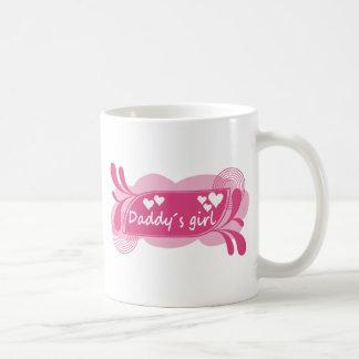 Daddy´s Girl Cute Design! Basic White Mug