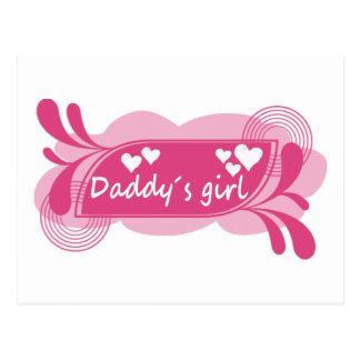 Daddy´s Girl Cute Design! Postcard