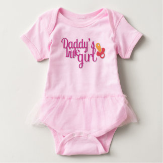 Daddy´s little girl, shirt with ballet tutu