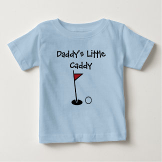 """""""Daddy's Little Caddy"""" Baby Shirt"""