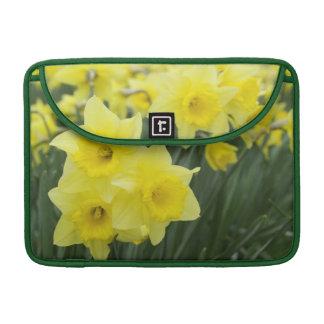 Daffodils RF) Sleeves For MacBook Pro