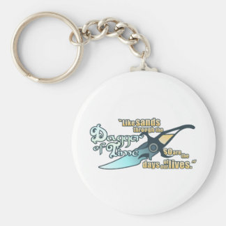 Dagger of Time Basic Round Button Key Ring