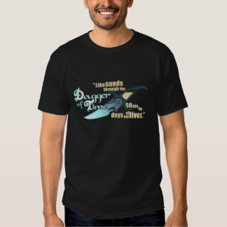Dagger of Time Tees