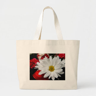 Daisy Face Jumbo Tote Bag