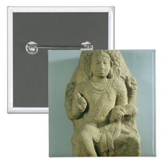 Dakshinamurti, Tamil Nadu, Pallava dynasty (granit 15 Cm Square Badge