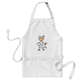 Dalmation Dog Dress Up Tshirts and Gifts Standard Apron