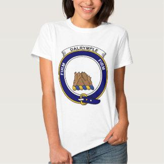 Dalrymple Clan Badge T-shirts
