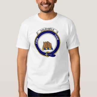 Dalrymple Clan Badge Tshirt