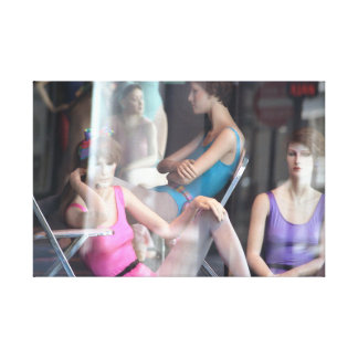 """""""Dance Class"""" jjhelene Premium Wrapped Canvas Gallery Wrapped Canvas"""