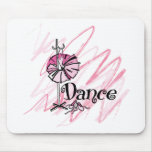Dance Mouse Pad - Pink