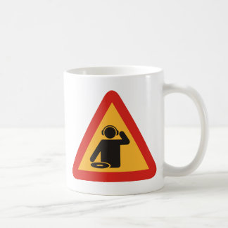 Danger DJs at Work Basic White Mug