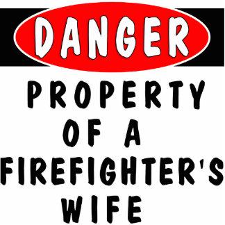 Danger!  FF Wife Photo Sculpture Decoration