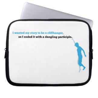 Dangling Participle Laptop Sleeve
