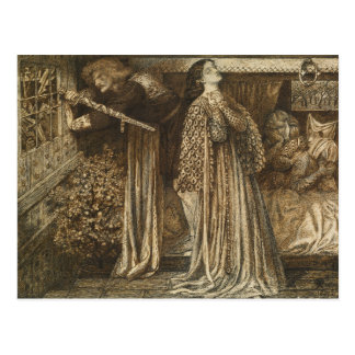 Dante Gabriel Rossetti - Sir Launcelot Postcard
