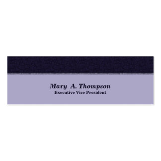 Dark Blue Texture Pack Of Skinny Business Cards