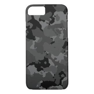 Dark Camo Pattern iPhone 7 Case