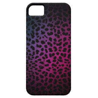 Dark Night Club Inspired Leopard Print iPhone Case
