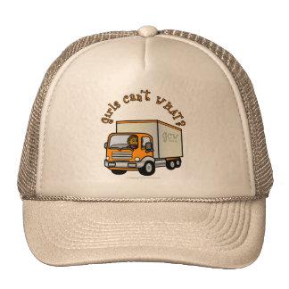 Dark Truck Driver Girl Cap