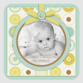 Darling Baby Toes Photo Sticker B