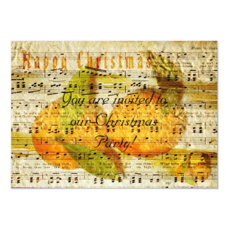 Darling Clementines for Christmas 13 Cm X 18 Cm Invitation Card
