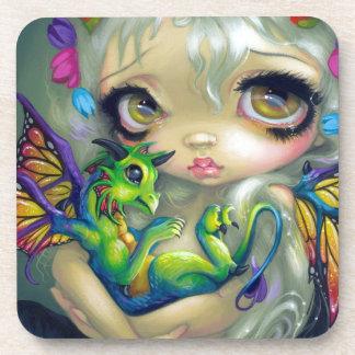 """Darling Dragonling IV"" Coasters"