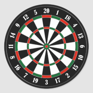 Dartboard Sticker