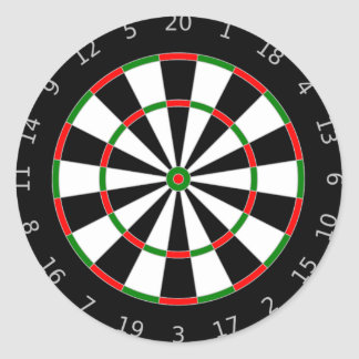 Dartboard Stickers