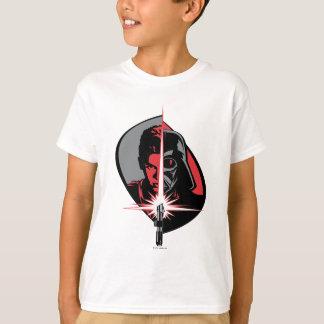 Darth Vader Half Face Tee Shirts